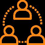 Premium health content custom content orange