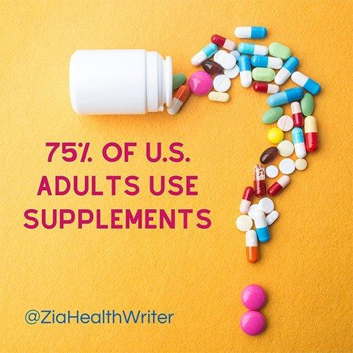 blog market supplements 75% adults