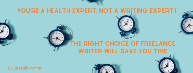 freelance writer save time