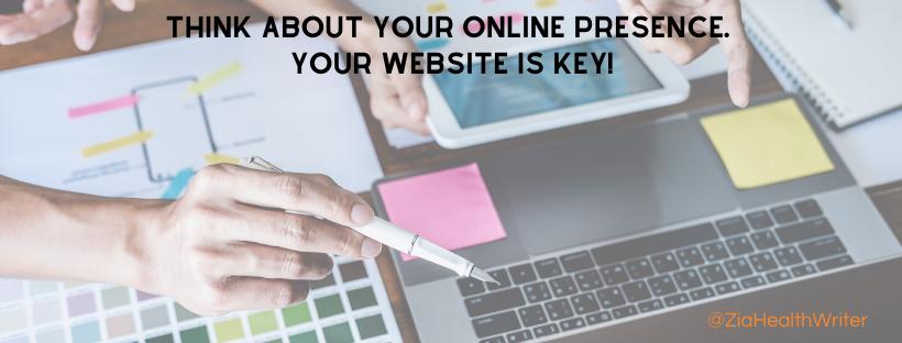 freelance writer website is key