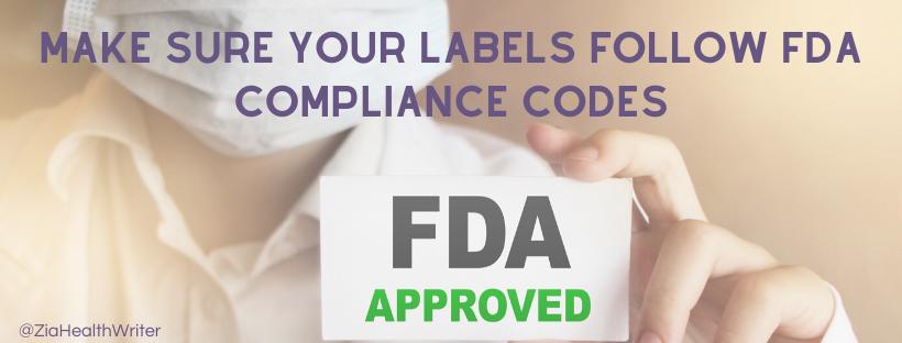 marketing supplement fda label