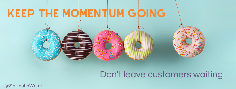 marketing supplement momentum