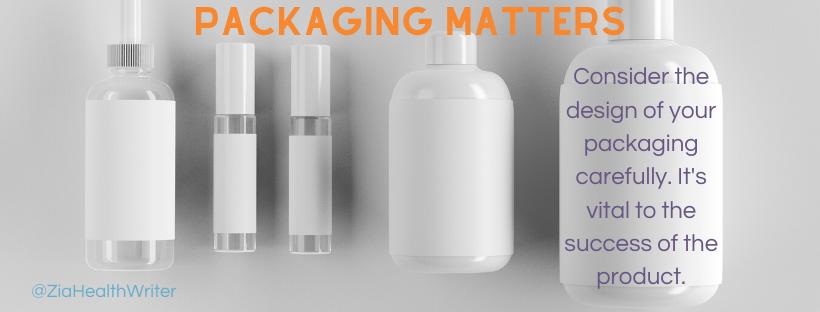 marketing supplement packaging