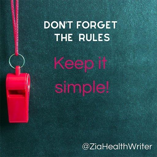 medical writer keep it simple 02
