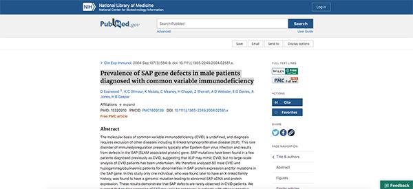 project screenshot Academic publication