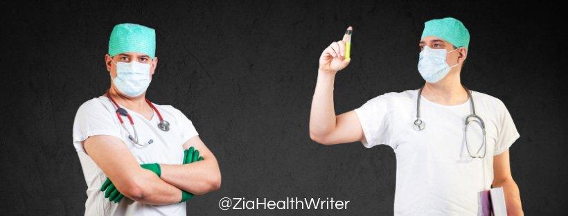 2 surgeons pose