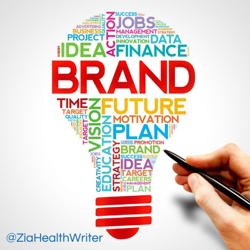 Bulb infographic showing brand strategy