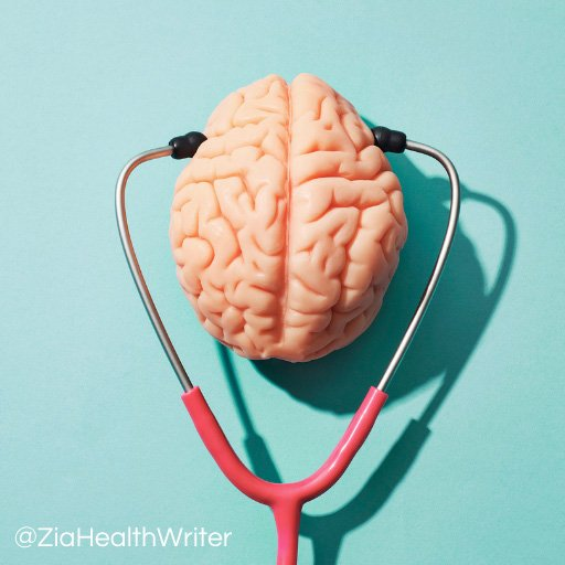 Image of a brain with a stethoscope